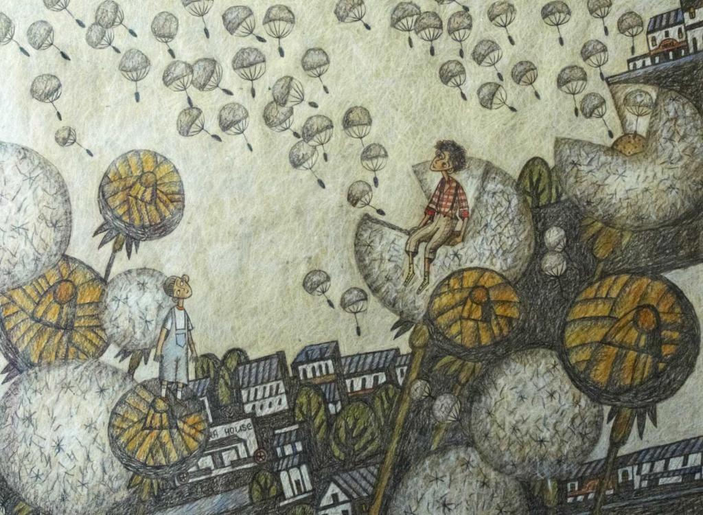 вино из одуванчиков иллюстрации к книге дом или коттедж